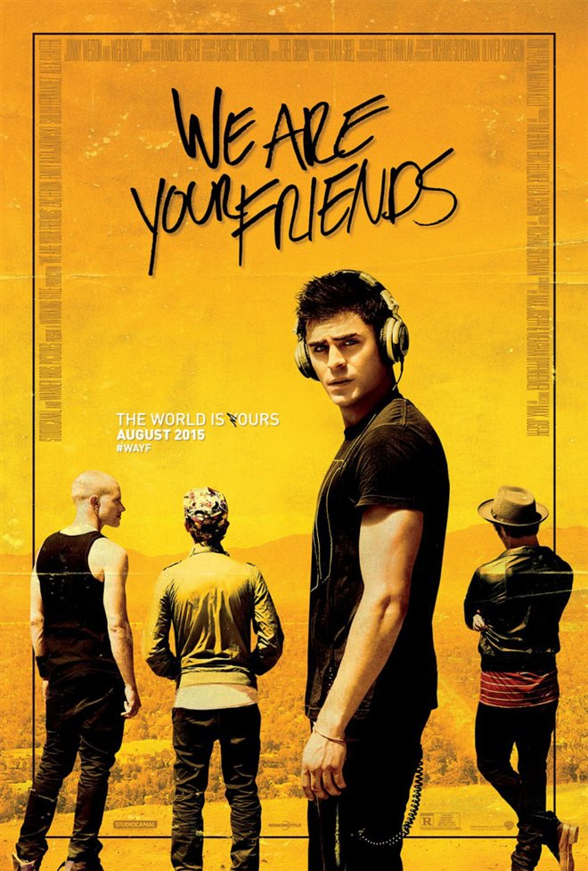 We Are Your Friends Large Poster