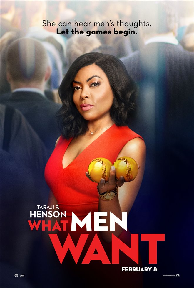 What Men Want (v.o.a.) Large Poster