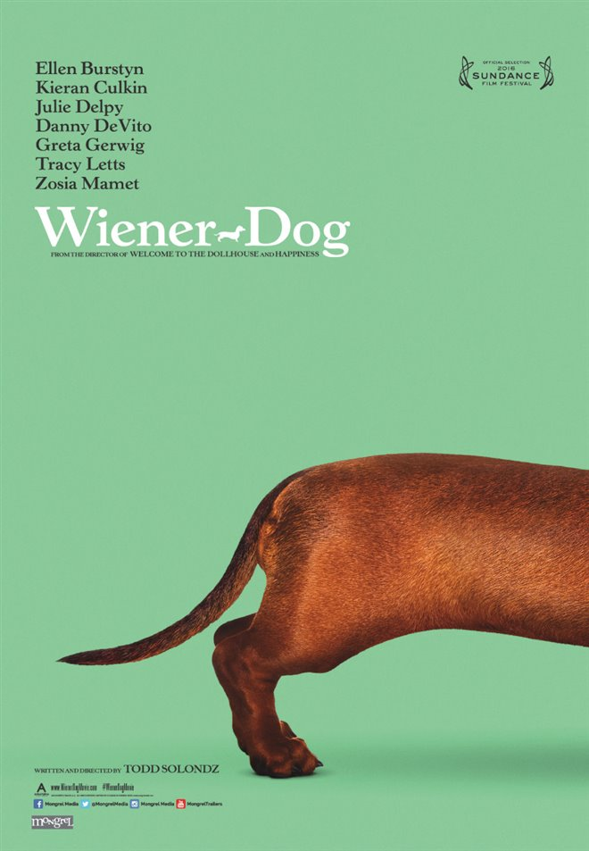 Wiener-Dog (v.o.a.) Large Poster