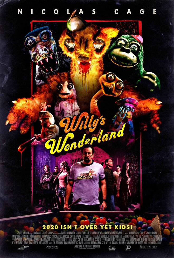 Willy's Wonderland Large Poster