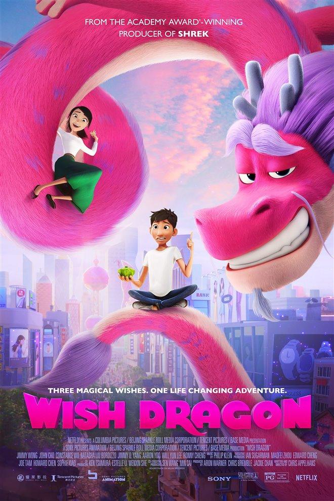 Wish Dragon Large Poster