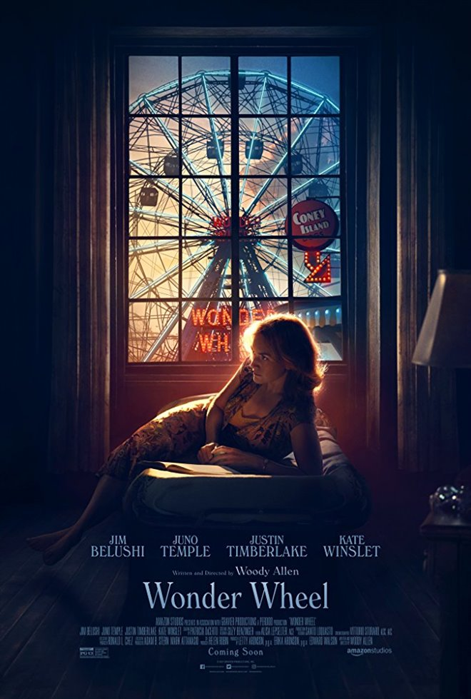 Wonder Wheel Large Poster