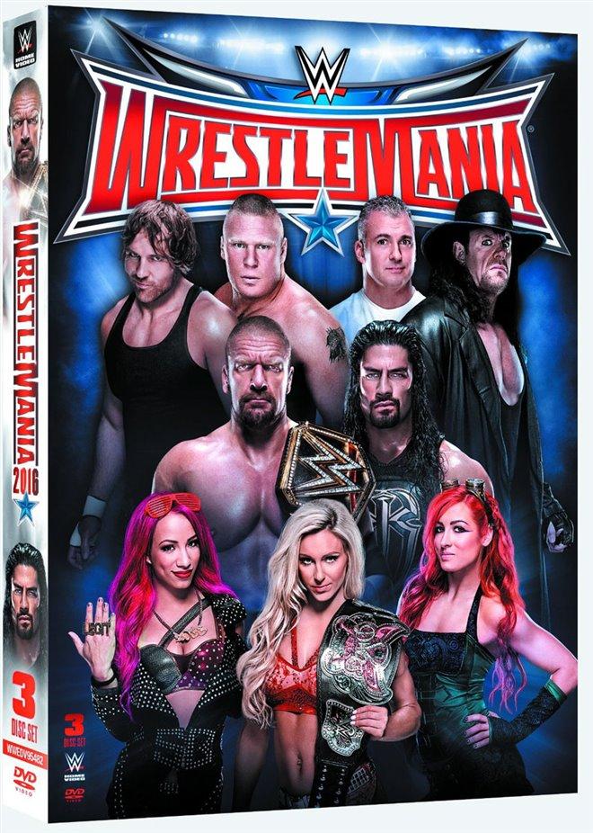 WrestleMania 32 Large Poster
