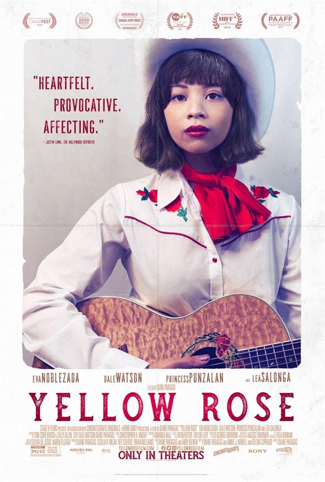 Yellow Rose Large Poster