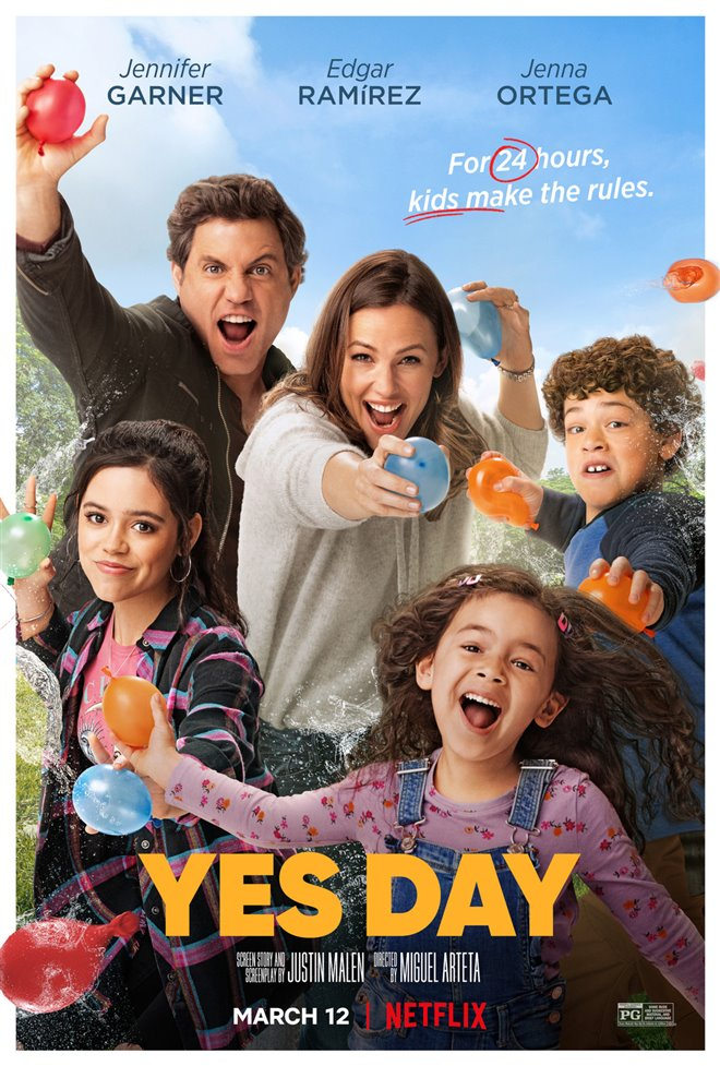 Yes Day (Netflix) Large Poster