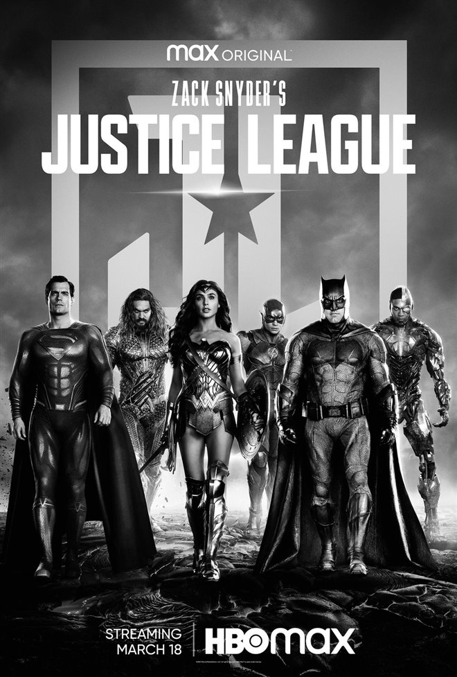 Zack Snyder's Justice League Large Poster