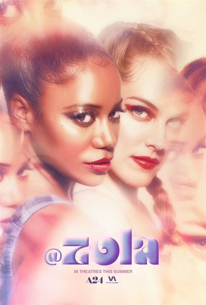 Zola Large Poster