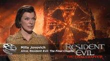 Milla Jovovich Interview