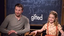 Chris Evans & Mckenna Grace Interview