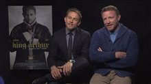 Charlie Hunnam & Guy Ritchie Interview