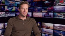 Armie Hammer Interview - Cars 3 Poster