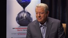 Al Gore Interview - An Incovenient Sequel: Truth to Power Video