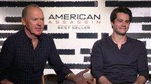 Michael Keaton & Dylan O'Brien Interview