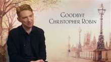 Domhnall Gleeson Interview - Goodbye Christopher Robin Poster