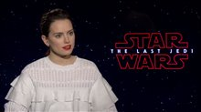 Daisy Ridley Interview - Star Wars: The Last Jedi Poster