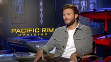 Scott Eastwood Interview - Pacific Rim Uprising Poster