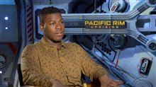 John Boyega Interview - Pacific Rim Uprising Poster