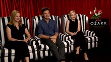 Laura Linney, Jason Bateman & Julia Garner Interview