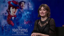 Emily Mortimer talks 'Mary Poppins Returns' Poster