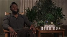Trevante Rhodes talks 'Bird Box' Poster