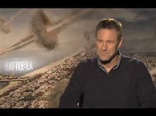 Aaron Eckhart (Battle: Los Angeles) Video