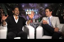 Adam Rodriguez & Matt Bomer (Magic Mike) Video