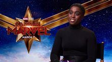 Lashana Lynch talks 'Captain Marvel' Poster