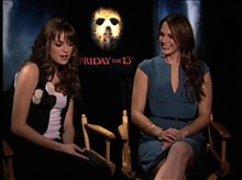 Danielle Panabaker & Amanda Righetti (Friday the 13th) Video