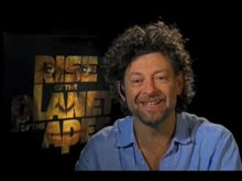 Andy Serkis (Rise of the Planet of the Apes) Video