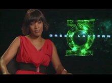 Angela Bassett (Green Lantern) Video