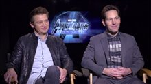 Jeremy Renner & Paul Rudd Interview