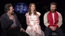 Mark Ruffalo, Karen Gillan & Chris Evans Interview