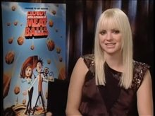 Anna Faris (Cloudy With a Chance of Meatballs) Video