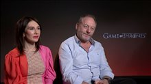 Carice van Houten & Liam Cunningham talk 'Game of Thrones' Video