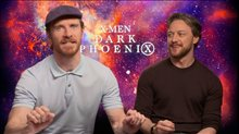 Michael Fassbender & James McAvoy Interview