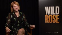 Jessie Buckley talks 'Wild Rose' Poster
