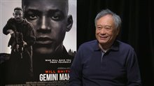 Ang Lee talks 'Gemini Man' Poster