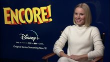 Kristen Bell talks about hosting exciting new show Encore! Video