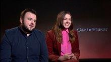 John Bradley & Hannah Murray on the final season of 'Game of Thrones' Video