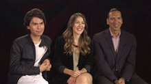 Forrest Goodluck, Elle-Máijá Tailfeathers and Michael Greyeyes talk 'Blood Quantum' Video