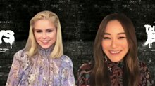 Erin Moriarty & Karen Fukuhara talk Season 2 of 'The Boys' Video