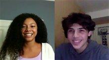 Simone Miller & Tomaso Sanelli talk 'Detention Adventure' Video