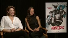 Tess Haubrich & Caroline Ford talk 'Nekrotronic' Video