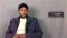Shaun Parkes talks about playing Frank Crichlow in 'Mangrove' Video
