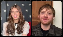 Rupert Grint and Nell Tiger Free talk about Season 2 of 'Servant' Video