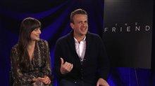 Dakota Johnson and Jason Segel talk 'Our Friend' Video