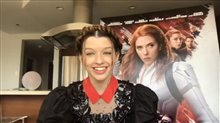 'Black Widow' star Ever Anderson on her role as Young Natasha Video