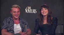 Ben Hardy and Natasha Liu Bordizzo on starring in 'The Voyeurs' Video