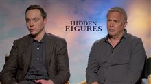 Jim Parsons & Kevin Costner Interview
