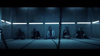 "Jigsaw Movie Clip - ""BucketHeads"" video"